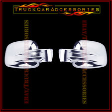 For JEEP Liberty 2002 2003 2004 2005 2006 2007 Chrome Full Mirror Covers 2 Whole