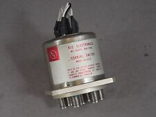 RLC Coaxial Switch Model SR-6C-D