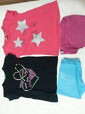 Lotto 619 stock leggins pantaloni magliette bimba bambina 4/5 anni