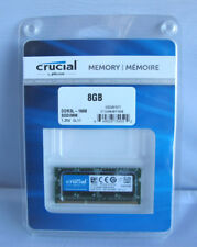 Crucial 8GB 204-Pin SODIMM DDR3 1600 Mt/s (PC3-12800) Memory Module