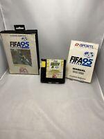 FIFA 95 Soccer Sega Mega Drive game boxed with manual Free P&p