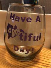 New listing Halloween Wine Glass Set (2)
