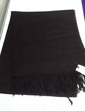 Topman Scarf- Extra soft -Dark Brown -RRP £18 - Ideal Gift