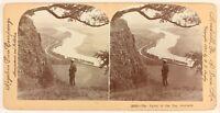 Valley Tay Scozia UK Foto Stereo PL55L6n Vintage Citrato