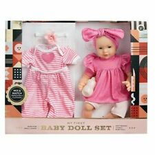 FAO Schwarz My First Baby Doll Set Soft Bodied Ages 3 Gm1512a