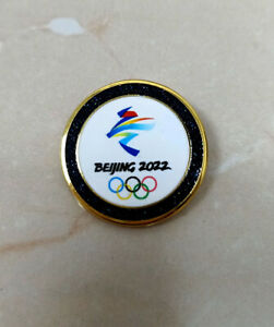 Beijing 2022 olympic pins black