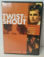 Twist and Shout DVD Out of Print RARE 2-Disc Set INCLUDES Zappa on DVD