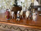 Group of Antique German Toys and Putz Animals- 1900's