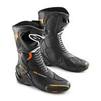 KTM Alpinestars SMX-6 Black Orange Leather Sport Boot New