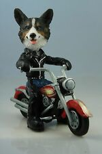 Welsh Corgi Cardigan On A Motorcycle See All Breeds & Bodies @ Ebay Store