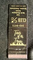 Taste Of The Towne Club C/C North Ave,Scranton, PA matchbox Cover