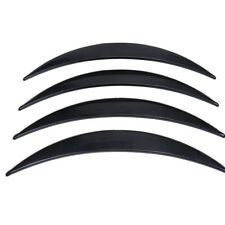4x Auto Car Extension Wheel Eyebrow Trim Protector Lip Sticker Part Carbon Fiber