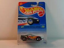Hot Wheels Blue Chrome Camaro Racer w/ NO Baldwin & 5 Spoke Wheel PKG# 338 MIB