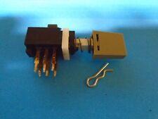 Teac X-10 X-10R Switch Push Dpdt 6 Pin Rec Bias Or Rec Eq P/N 5134094000 Used