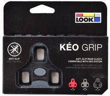 LOOK KEO GRIP Road Pedal Cleats 0° Black Fits Classic, 2 Max Blade & BL. Carbon