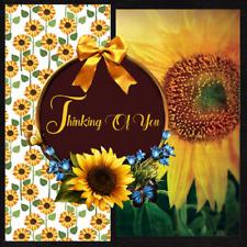 HANDMADE 3D BIRTHDAY GREETING CARD W/ ENVELOPE