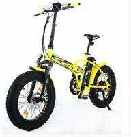 Reset Bike Bici Elettrica Redwood E-Bike Bicicletta Fat Bike Pieghevole 500w
