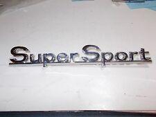 1966 CHEVROLET SUPER SPORT QUARTER PANEL EMBLEM NEW 7635748
