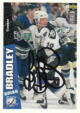 BRIAN BRADLEY LIGHTNING AUTOGRAPH AUTO 96-97 UD COLLECTORS CHOICE #250 *28081