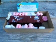 "ATHEARN BEV-BEL #1716 SEABOARD COAST LINE ""SERVICE CUSTOMERS"" 40' BOXCAR #4037"