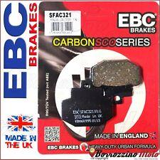 PASTIGLIE FRENO POSTERIORE EBC CARBON PIAGGIO SUPER HEXAGON GTX 125 2001 - 2003