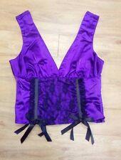 Phaze Clothing / Purple Vest - Corset / Size 12 / Slight marks and scuffs - 1105