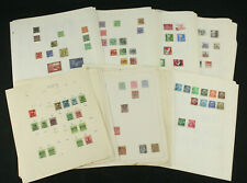 Large Germany Inflation, Reich, DDR Stamp Collection Lot on Album Pages - LOOK!