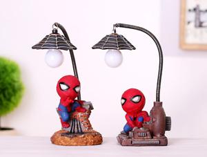 Lovely Spider-Man Marvel Desk lamp Retro Small night lights Birthday Gifts Decor
