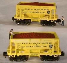 RMT/READY MADE TRAINS ORE CAR SET w/ORE LOAD D&H/DELAWARE & HUDSON O GAUGE