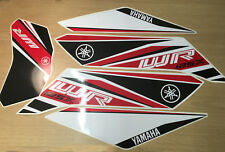 5 Piece Decal stickers kit  for Yamaha wr 125x 09-17 Red Remanufactured