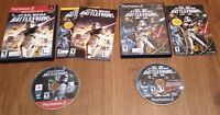 Star Wars Battlefront 1 and 2 (Sony Playstation 2 PS2) Complete Tested