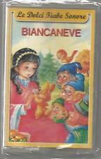Le dolci Fiabe Sonore - Biancaneve - MC MUSICASSETTA SIGILLATA