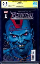 Yondu #1 CGC SS 9.8 signed by Michael Rooker GUARDIANS OF THE GALAXY MOVIE