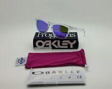 Oakley Frogskins 9013 colore 24-305 occhiale da sole nuovo lente violet iridium