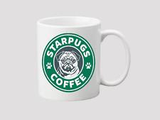 Mug StarPUGS Coffee - Gift Cup Present Pet Dog Pug