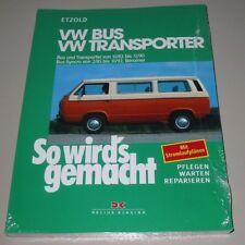 Reparaturanleitung VW Bus + Transporter T3 / T 3 + Syncro So wirds gemacht NEU!