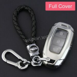 For Hyundai Palisade/Elantra GT/Veloster/Accent Smart Key Chain Case Full Cover