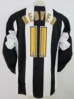 MAGLIA CALCIO SHIRT JUVENTUS NEDVED MATCH 2004/2005 FOOTBALL ITALY SOCCER IT172