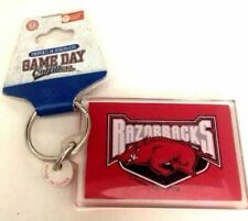 SWEN Products ARKANSAS RAZORBACKS Metal Key Chain Holder Hanger