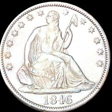 "1846-O ""TALL DATE"" Seated Half Dollar APPEARS UNCIRCULATED ms 50c Liberty Silver"