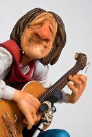 "GUILLERMO FORCHINO - Comic Art Skulptur - ""THE GUITAR PLAYER"" FO85517 figuren"