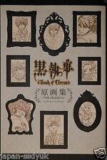JAPAN TV Animation Black Butler / Kuroshitsuji Book of Circus Gengashuu