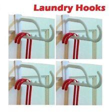 New 3 x Over The Door Hanger PVC Hook Clothes Multipurpose Hanging