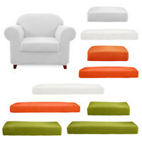 Elastic Sofa Seat Cushion Cover Couch Slipcover Replacement Polyester