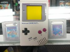 ORIGINAL NINTENDO GAME BOY HANDHELD WITH 2 GAMES TETRIS SUPER MARIO LAND