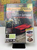 SHIPS SAME DAY Original Xbox Project Gotham Racing 2 (2003 Demo Disc #26) Rare