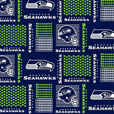 """NFL Seattle Seahawks 6470D 100% Cotton 60"""" Fabric by the yard"""