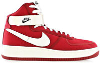 Scarpe Uomo Donna Rossa Nike Sneakers Men Woman Red Air Force 1 High Retro
