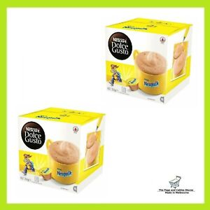 NESCAFE Dolce Gusto Nesquik Chocolate Coffee Pods 2 Boxes (Total 32 Capsules)