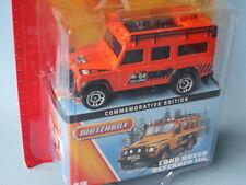 Matchbox Land Rover Defender 110 G4 Challenge Toy Model 70mm Orange MB 60th